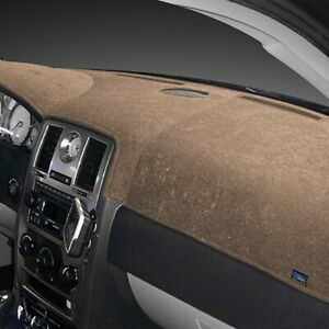 For Ford Galaxie 500 65 66 Dash Designs Brushed Suede Taupe Dash Cover