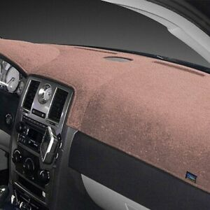 For Ford Galaxie 500 65 66 Dash Designs Plush Velour Light Taupe Dash Cover