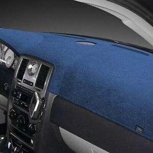 For Fiat Strada 79 81 Dash Designs Plush Velour Ocean Blue Dash Cover