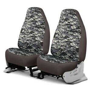 For Dodge Ram 1500 Van 97 03 Camo 1st Row Digital Charcoal Custom Seat Covers