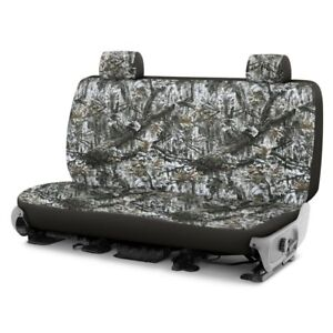 For Toyota Pickup 86 94 Camo 1st Row Superflauge Snow Custom Seat Covers