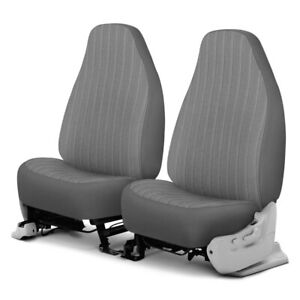 For Dodge Ram 1500 Van 97 03 Plush Regal 1st Row Silver Custom Seat Covers