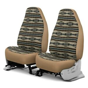 For Dodge Ram 1500 Van 97 03 Southwest Sierra 1st Row Tan Custom Seat Covers