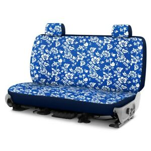 For Dodge Ram 1500 Van 95 96 Hawaiian 2nd Row Blue Custom Seat Covers