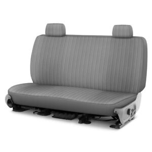 For Dodge Ram 1500 Van 97 03 Dorchester Velour 2nd Row Gray Custom Seat Covers