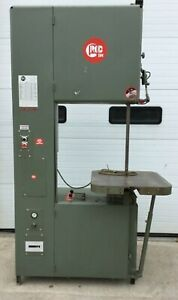 Grob 4v 24 Variable Speed 24 Metal Cutting Vertical Band Saw