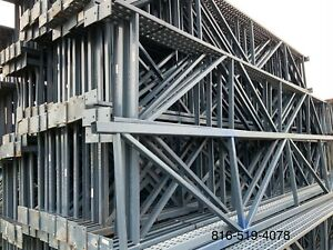Used T bolt Pallet Rack Shelving Racking Sections Scaffolding One Section