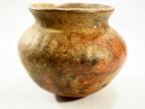 Pre Columbian Mayan Flared Rim Pot Jallisco Mexico 100bc 300ad Caa 241