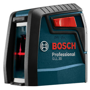 Bosch 30 ft Red Beam Self leveling Cross line Chalkline Laser Level With Plumb P