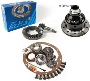 87 96 Jeep Yj Dana 30 4 56 Reverse Ring And Pinion Grip Pro Posi Elite Gear Pkg