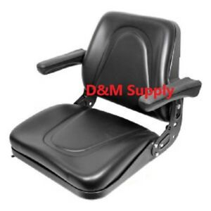 Kubota Skid Steer Bobcat Universal Tractor Seat With Arms