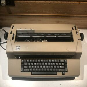 Vintage Ibm Correcting Selectric Iii 3 Typewriter Beige Parts Or Repair
