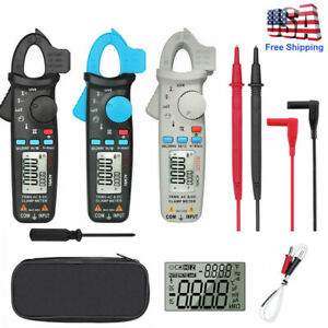 Bside Acm91 Digital Clamp Meter 1ma Ac dc Current True Rms Auto ranging 6000