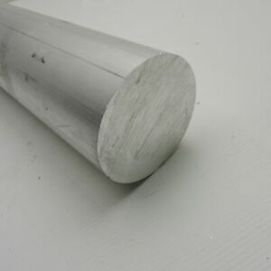 4 Diameter 6061 Solid Aluminum Round Bar 16 75 Long Lathe Stock Sku 199202