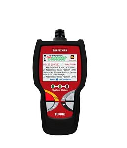 Craftsman Diagnostic Scan Tool Car Scanner Code Reader Auto Engine Obd2 Dtc New