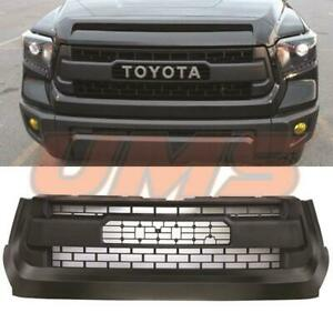 For 2014 2018 Toyota Tundra Trd Pro Oe Style Grey Front Upper Hood Grille Grill