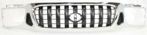 New Grille Chrome For Toyota Tacoma 2001 2004 To1200248