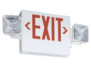Lithonia Lighting Ecr Led M6 Thermoplastic Led Emergency Exit Sign