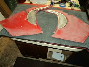 Corvette 1960 Complete Kick Panels Will Fit 1958 1959 1961 1962 Too