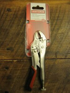 Craftsman 5 Inch Locking Curved Jaw Pliers Part 45717