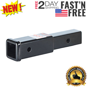 Trailer Hitch Extension Fit 2 Receiver Tube Extenders 7 Length 3500 Lbs Gtw