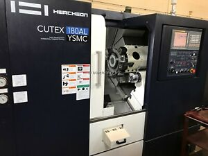 Hwacheon Cutex 180al Ysmc Cnc Lathe Turning Center 2018 Subspindle Live Milling
