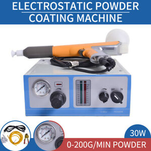 Original Portable Electrostatic Powder Coating System Spray Gun Paint Machine