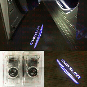 2x Ghost Led Door Projector Courtesy Puddle Logo Light For Chrysler 300c 2005 18