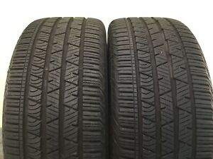 Set Of 2 Used Tires P265 45r20 108h Continental Cross Contact Lx Sport 2654520
