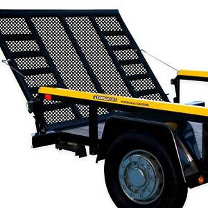 Gorilla Lift 2 Sided Tailgate Utility Trailer Gate Ramp Lift Assist System