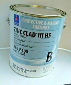 Sherwin Williams Protective Marine Coatings Zinc Clad Epoxy Hardener B69v100