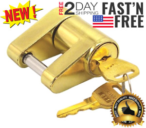 Trailer Coupler Latch Hitch Lock Tongue Security Towing Anti Theft Safety Pin