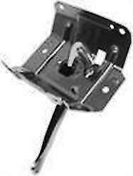 1969 Camaro Hood Latch Assembly Rs Ss Std Grille Black Reproduction Dii 1068j