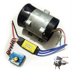 12v 16 5a Car Electric Turbo Charger Booster Brushless 30a Esc Drive Controller