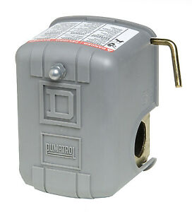 Square D Pressure Switch With Low Pressure Cut off For Electric Water Pump 30 5