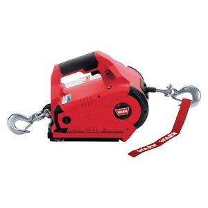 Portable Electric Winch 1 000 Lbs Pullzall Series Powered Cordless Electric