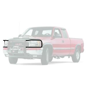 For Ford Ranger 98 03 Warn Trans4mer Series Black Non Wrap Around Brush Guards