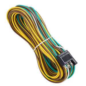 Wiring Harness Extension Kit 4 Way 25 Foot 4 Wire 4 Flat Trailer Light