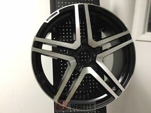 18 S65 Amg Black Rims Wheels Fits Mercedes Benz S Class S430 S500 S550 S400