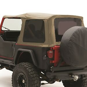Smittybilt 9870217 Replacement Soft Top Fits 1987 1995 Jeep Wrangler Yj