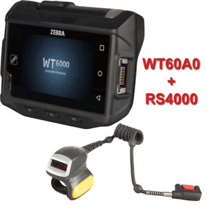 Wt60a0 Wt6000 Rs4000 Zebra Android Wrist Mount Barcode Ring Scanner Motorola