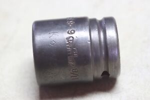 Williams 6 635 3 4 Inch Drive 1 1 8 6 Point Impact Socket Usa