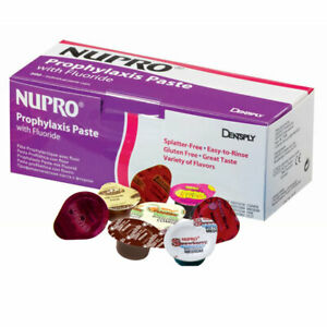 Dentsply 801213 Nupro Prophy Paste Cups Coarse Grit Mint Without Fluoride 200 pk