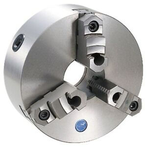 10 3 Jaw Plain Back Top Reversible Self Centering Lathe Chuck 3900 3403