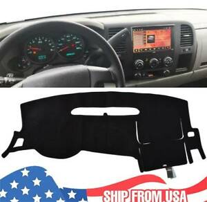 For Chevy Silverado 1500 2500hd 2007 2013 2012 Dashmat Dash Mat Dashboard Cover