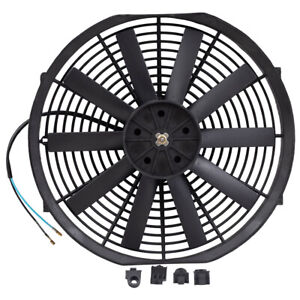 New Universal 14 Electric Radiator Condenser Push Pull Cooling Fan Mounting Kit