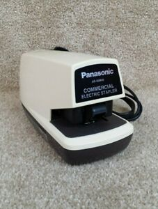 Panasonic As 300nn Commercial Electric Stapler Tested Working Ships Free