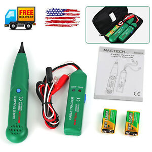 Telephone Cable Generator Phone Tone Probe Tracer Tracker Finder Tester Tool Kit