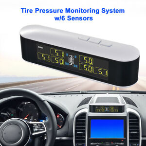 Wireless Tire Pressure Monitor System Tpms W 6 Sensors For Truck Car Ma1996