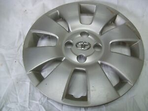 06 07 08 2008 Toyota Yaris Hatchback Wheel Cover Hubcap 15 8 Spoke 570 61140